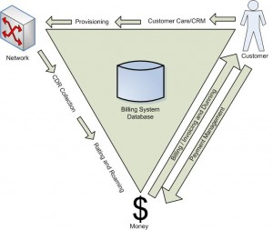Customer, Network and Money with Business Processes