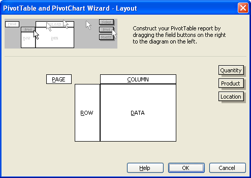 Step 4 Pivot table